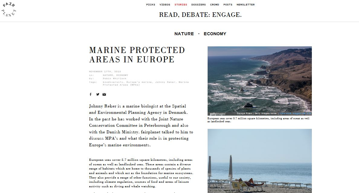 controversial role of marine protected areas