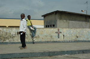 My pic: Children at Kinshasa church