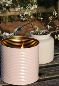 Large Outdoor Candle Rose 2