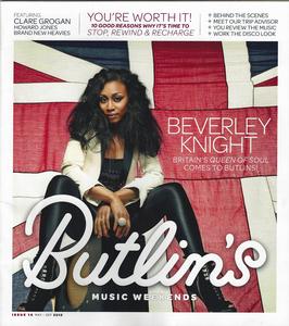 Butlins music magazine