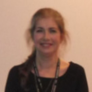 Photo at a conference Sept 2018