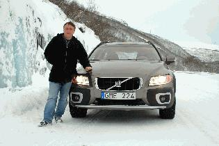 On a car launch in Antartica