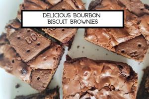 Bourbon biscuit brownie blog ima