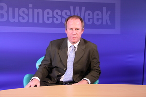 Presenting for Business Week TV