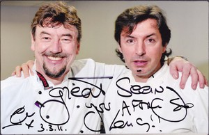 Me & Jean Christophe Novelli