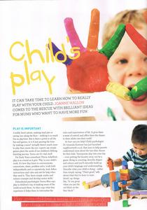 Feature for Gurgle magazine Dec 11