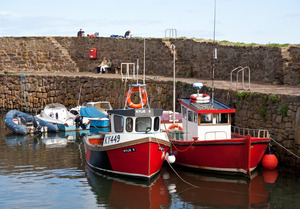 Crail harbour Fife