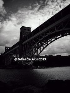 Britannia Bridge - Art photo by Julian