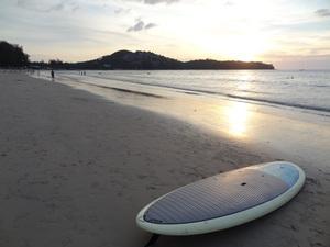 Standup paddle Phuket Thailand