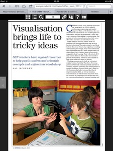 Times Educational Supplement March 2013
