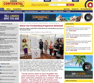 DVF Interview London confidential
