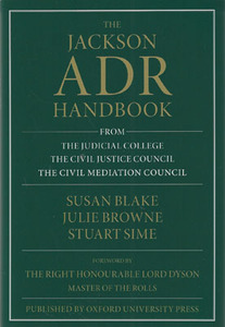The Jackson ADR Handbook