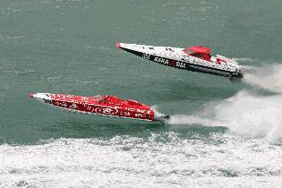 Testing P1 Off-Shore Championn