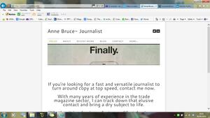 My website: www.annebruce.weebly.com