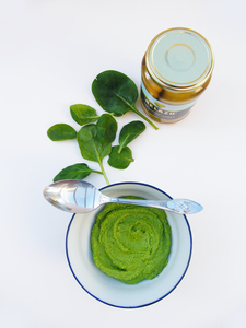 Spinach and Preserved Lemon Pesto for Belazu websi