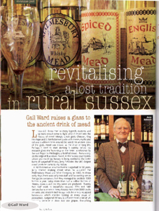 Revitalising a lost tradition in rural sussex wit