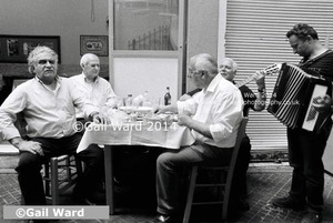 Greece. If music be the food of love ©Gail Ward 20