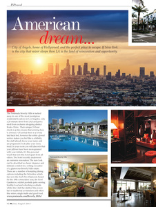 Travel feature for IN Magazine