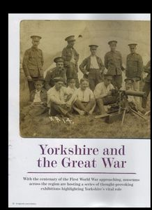 WW1 Feature - Living North