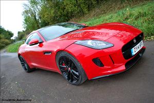 Jaguar F-Type V6S for DriveWrite Automotive