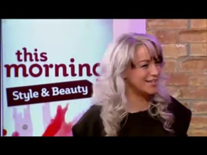Gina Akers TV Beauty Presenter