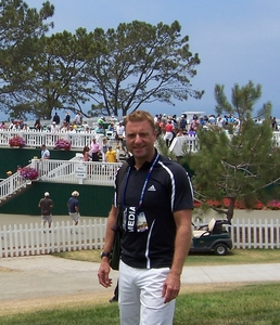 Reporting at US Open Golf Championship