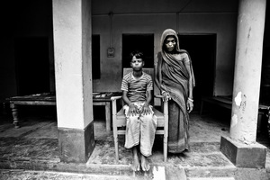 Trafficked child India