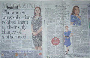 Daily Mail abortion feature 20 F