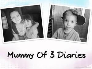 Mummy Of 3 Diaries Blog