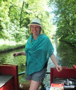 On my Narrowboat