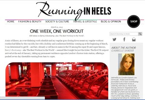 One Week One Workout: Barry Bootcamp