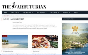 The Arbuturian: Travel Food Spa