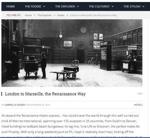 Arbuturian: London to Marseille
