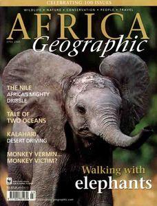 Africa Geographic magazine