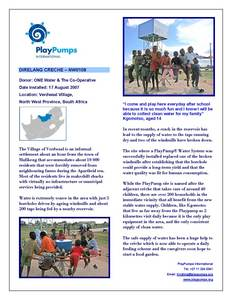 PlayPumps International