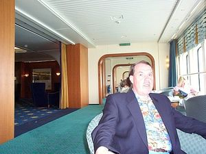 on board QE2  on first cruise.
