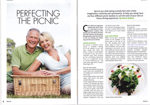 Article in My Time magazine about picnics