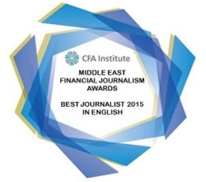 CFA Institute award 2015