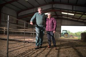 Farming couple.