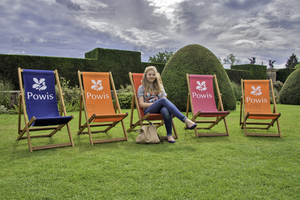 A summer day at Powis Castle