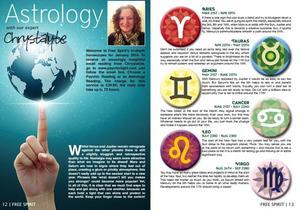 Horoscope Column for Psychic Light