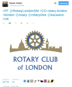 PR & Comms for Rotary London