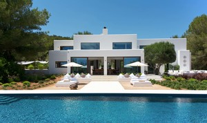 Ibiza: Brit-owned villa featured in KBB