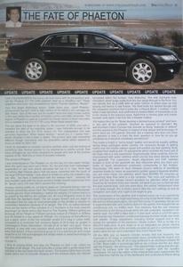 Volkswagen Phaeton review