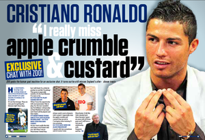 Ronaldo interview from ZOO days
