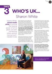 Mixed-media artist Sharon White in UK Women