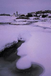 Iceland - winter dawn