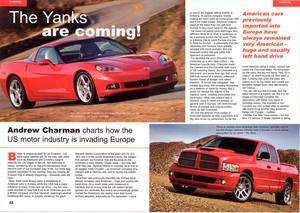 Opening spread feature for Casino magaz