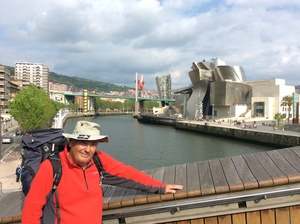 Leaving Bilbao to trek across the north