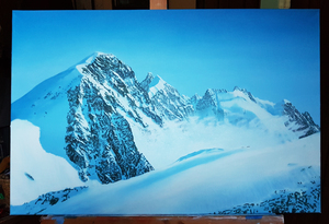 Painting form St. Moritz